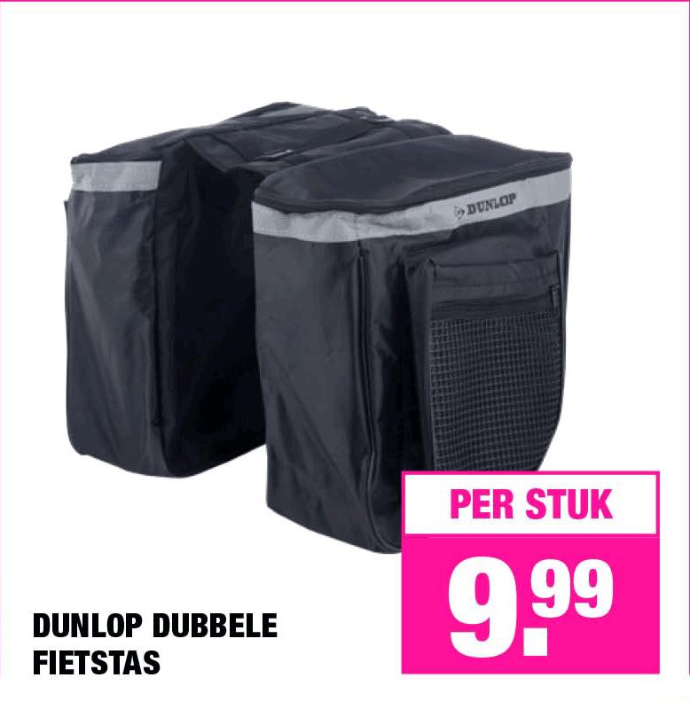 Big Bazar Dunlop Dubbele Fietstas