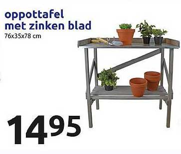 Action Oppottafel Met Zinken Blad