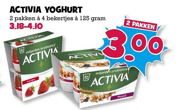 Boon's Markt Activita Yoghurt