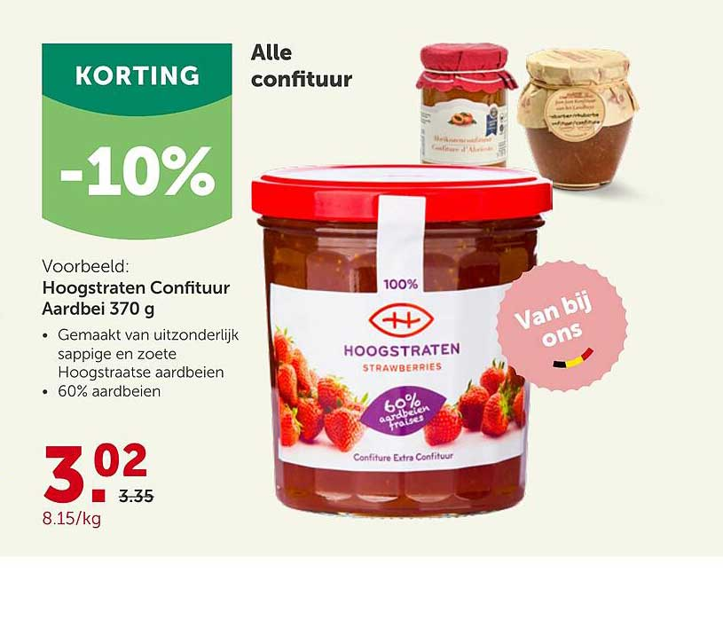 Aveve Alle Confituur -10% Korting