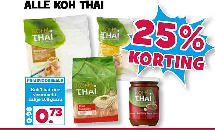 Boon's Markt Alle Koh Thai 25% Korting
