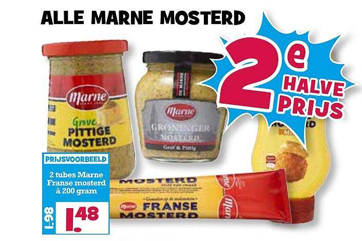 Boon's Markt Alle Marne Mosterd