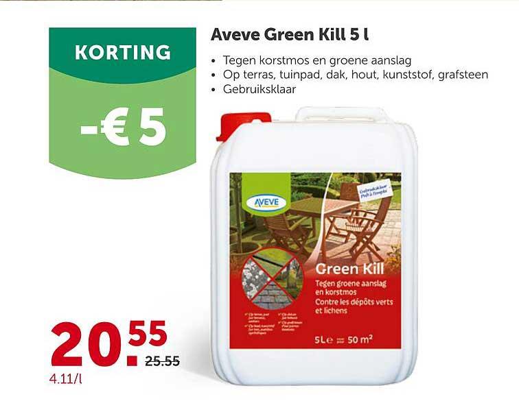 Aveve Aveve Green Kill 5L -€5 Korting