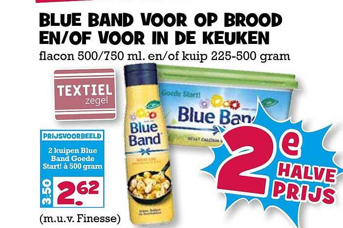 Boon's Markt Blue Band Voor Op Brood En-of Voor In De Keuken