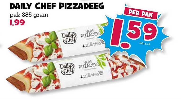 Boon's Markt Daily Chef Pizzadeeg