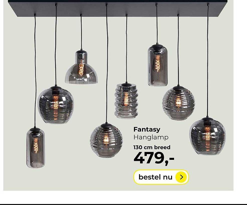Lampidee Fantasy Hanglamp 130cm Breed