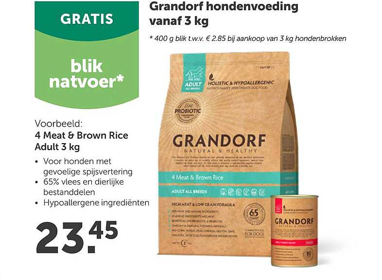 Aveve Grandorf Hondenvoeding