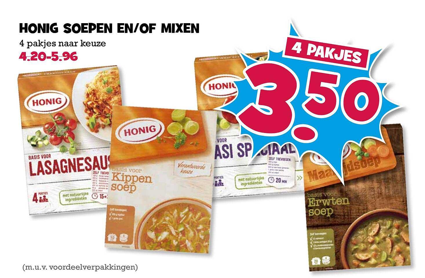 Boon's Markt Honig Soepen En-of Mixen