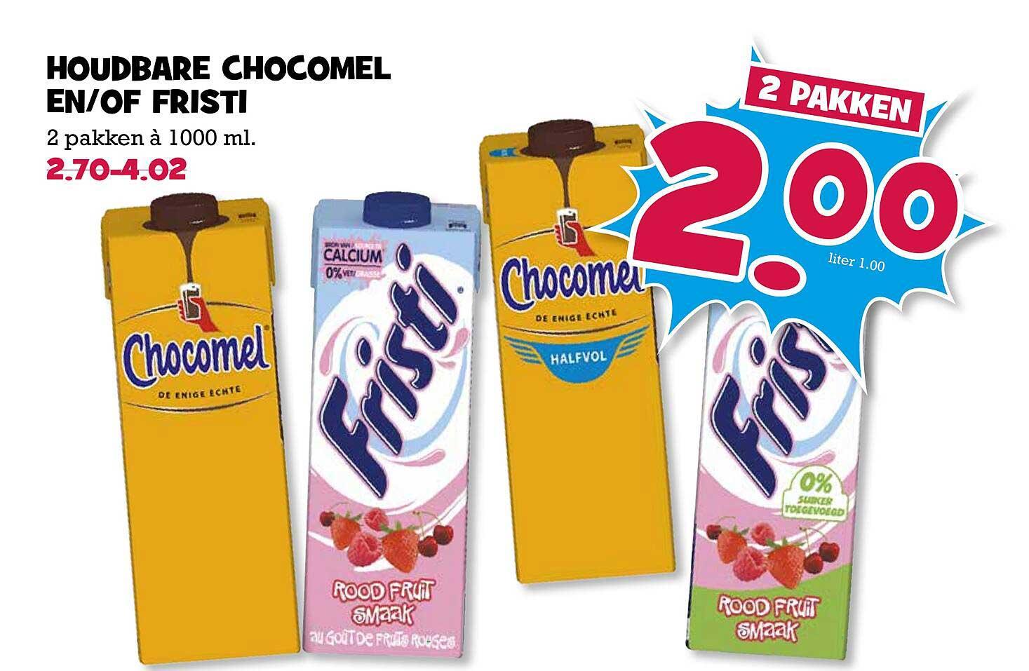 Boon's Markt Houdbare Chocomel En-of Fristi