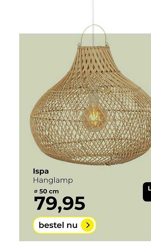 Lampidee Ispa Hanglamp ø 50 Cm