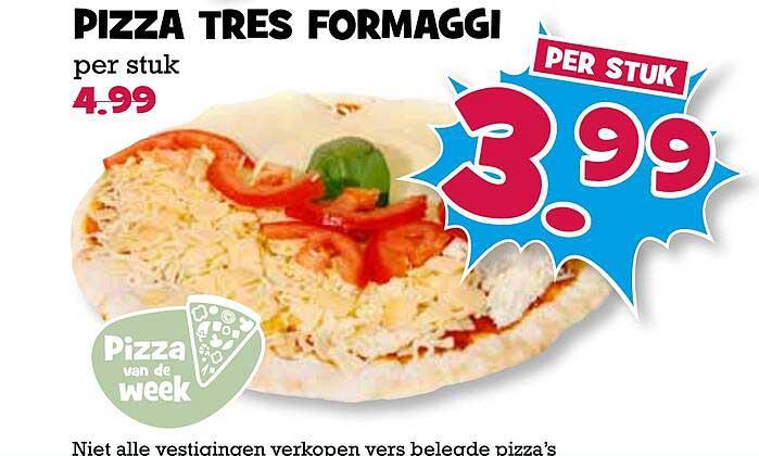 Boon's Markt Pizza Tres Formaggi