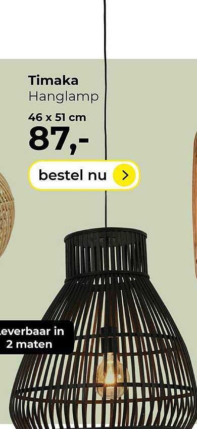 Lampidee Timaka Hanglamp 46x51 Cm
