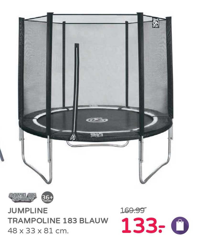 Prénatal Jumpline Trampoline 183 Blauw