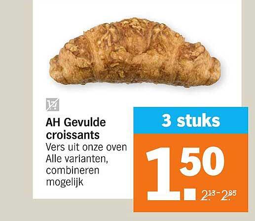 Albert Heijn AH Gevulde Croissants