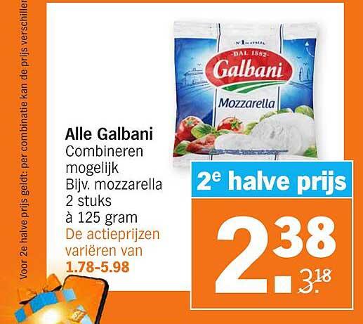 Albert Heijn Alle Galbani