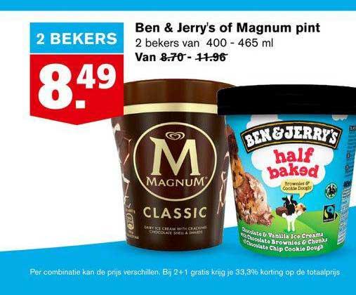 Hoogvliet Ben & Jerry's Of Magnum Pint
