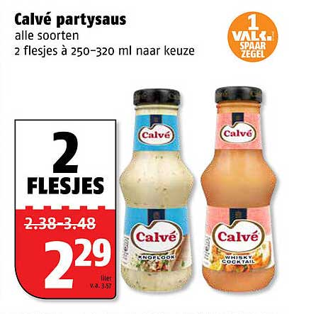 Poiesz Calvé Partysaus