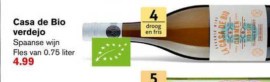 Hoogvliet Casa De Bio Verdejo Spaanse Wijn
