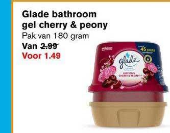 Hoogvliet Glade Bathroom Gel Cherry & Peony