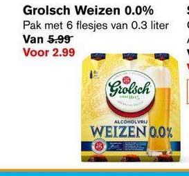 Hoogvliet Grolsch Weizen 0.0%