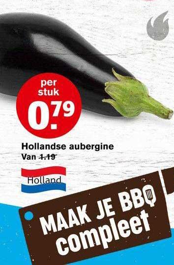 Hoogvliet Hollandse Aubergine