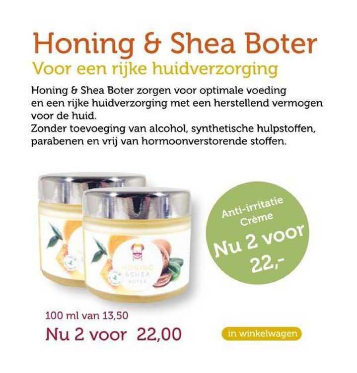 Rode Pilaren Honing & Shea Boter Voor Een Rijke Huidverzorging