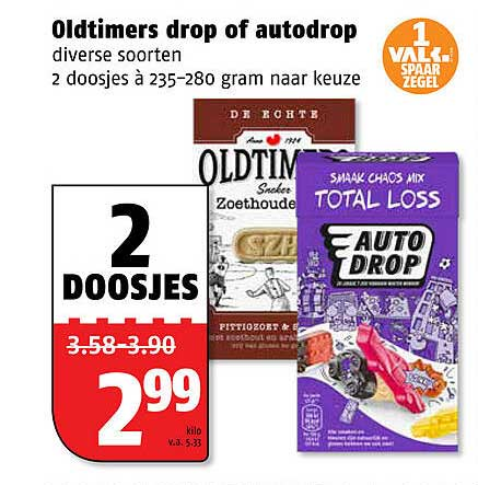 Poiesz Oldtimers Drop Of Autodrop