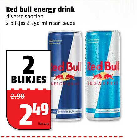 Poiesz Red Bull Energy Drink