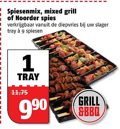 Poiesz Spiesenmix, Mixed Grill Of Noorder Spies