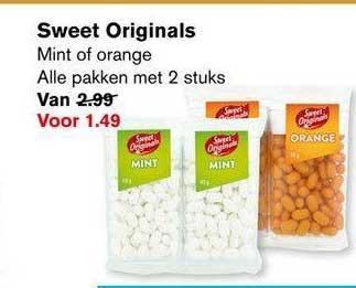 Hoogvliet Sweet Originals Mint Of Orange