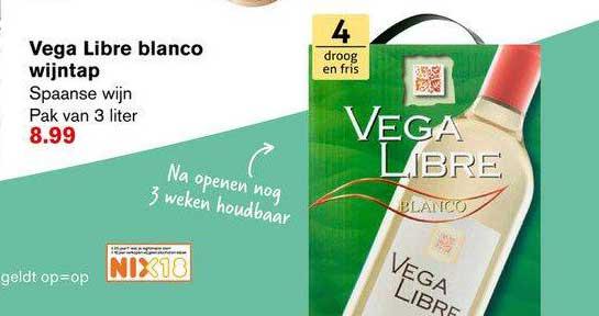 Hoogvliet Vega Libre Blanco Wijntap Spaanse Wijn