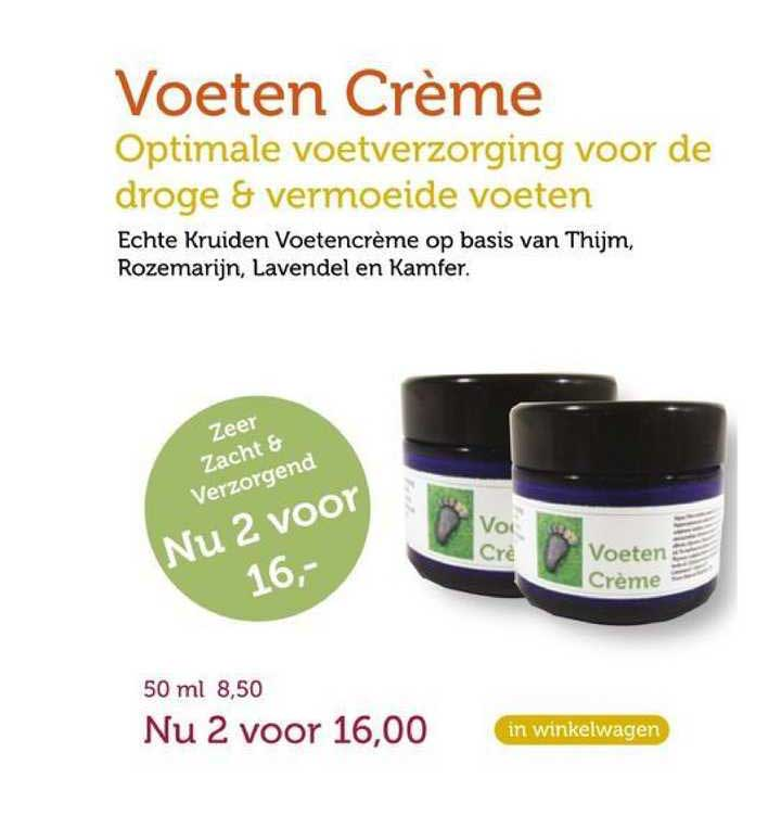 Rode Pilaren Voeten Crème Optimale Voetverzorging Voor De Droge & Vermoeide Voeten