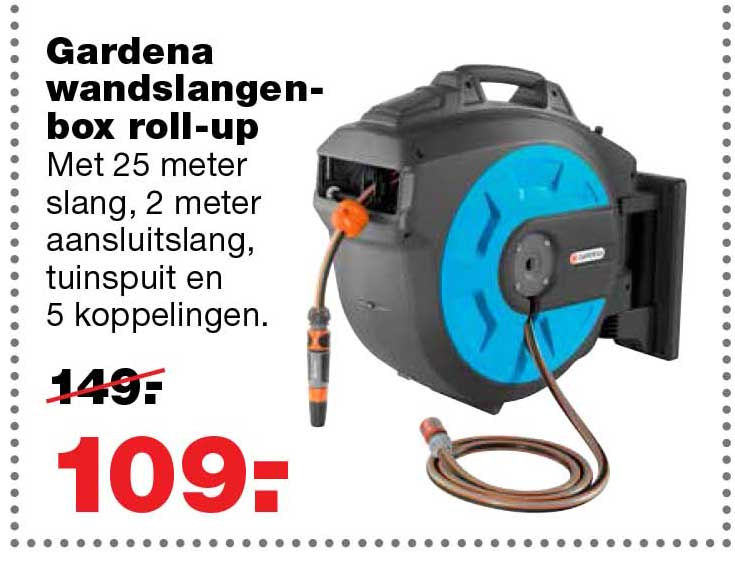 Praxis Gardena Wandslangenbox Roll Up