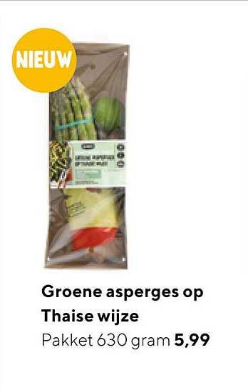 Jumbo Groene Asperges Op Thaise Wijze