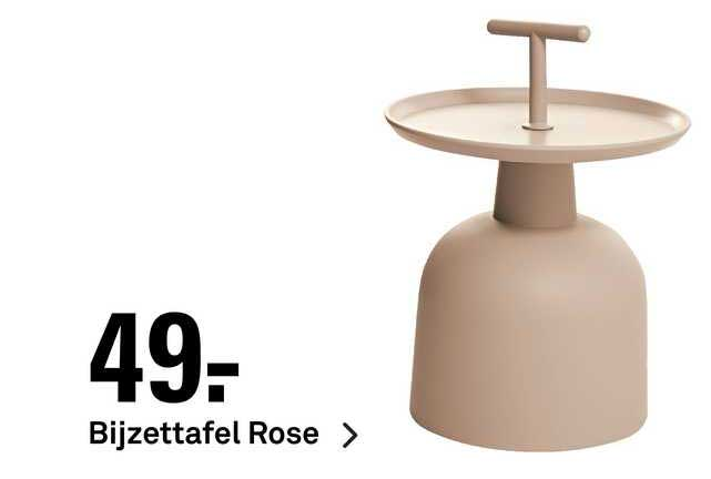 Karwei Bijzettafel Rose