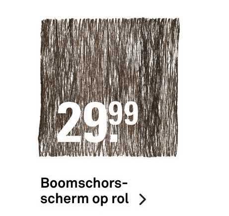 Karwei Boomschorsscherm Op Rol