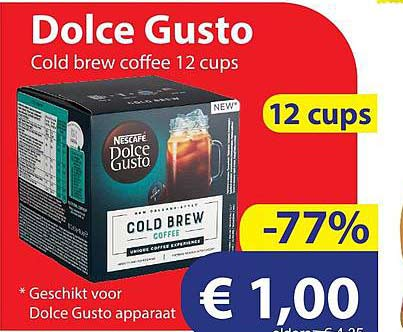 Die Grenze Dolce Gusto Cold Brew Coffee