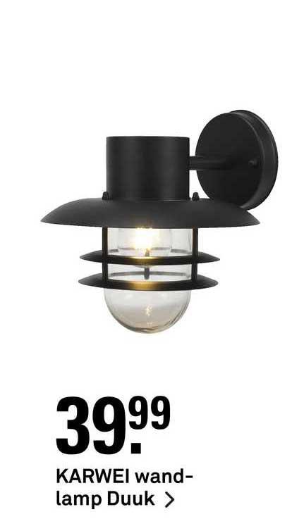 Karwei Karwei Wandlamp Duuk