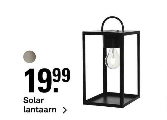Karwei Solar Lantaarn