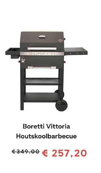 FonQ Boretti Vittoria Houtskoolbarbecue