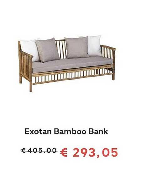 FonQ Exotan Bamboo Bank