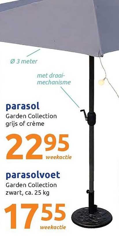 Action Parasol En Parasolvoet