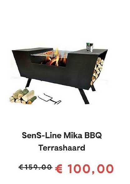 FonQ Sens Line Mika Bbq Terrashaard