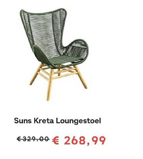 FonQ Suns Kreta Loungestoel