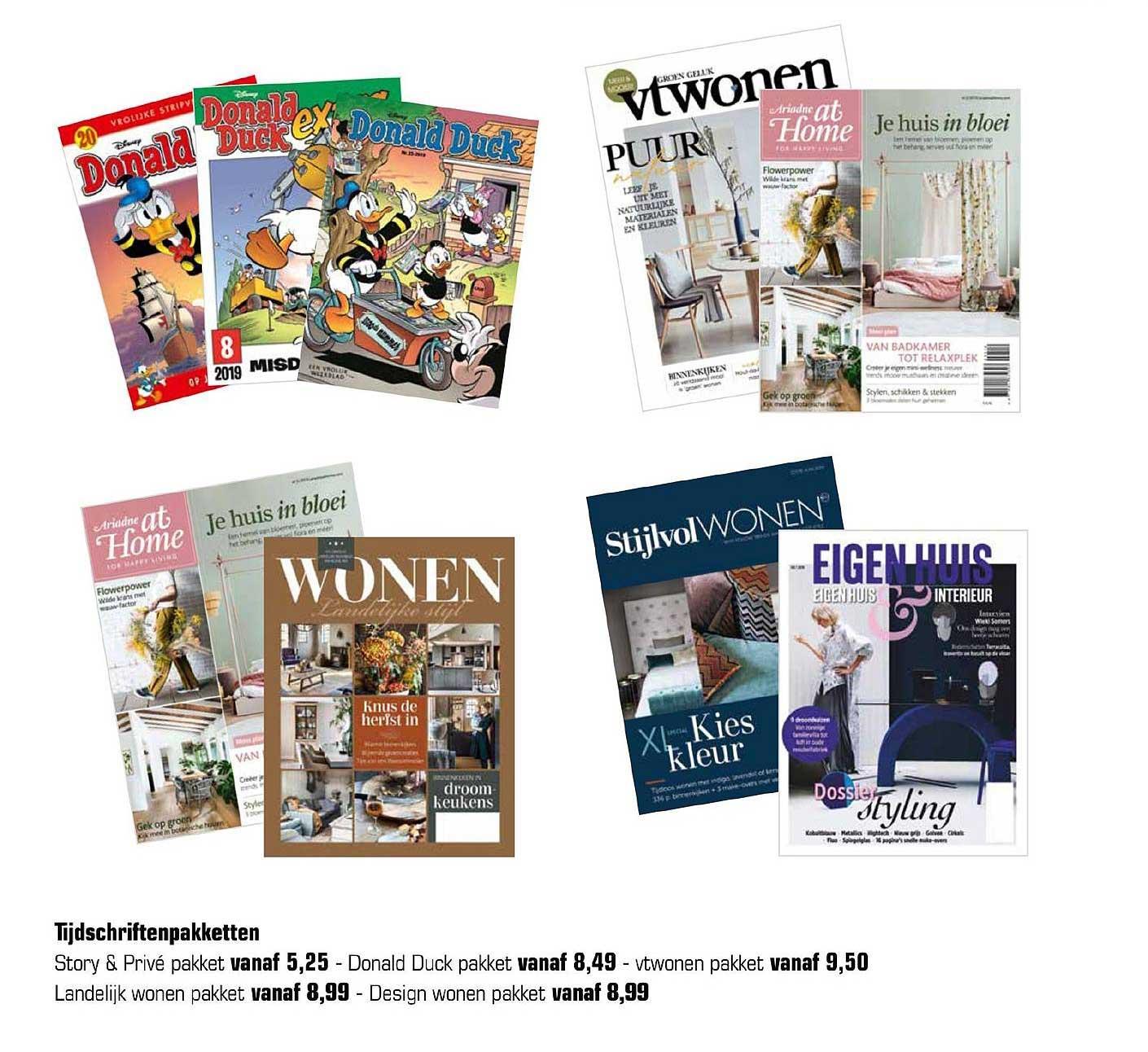 Primera Tijdschriftenpakketten