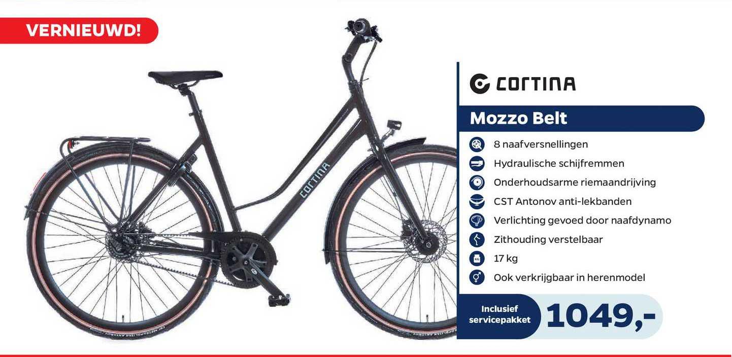 Bike Totaal Cortina Mozzo Belt Fiets