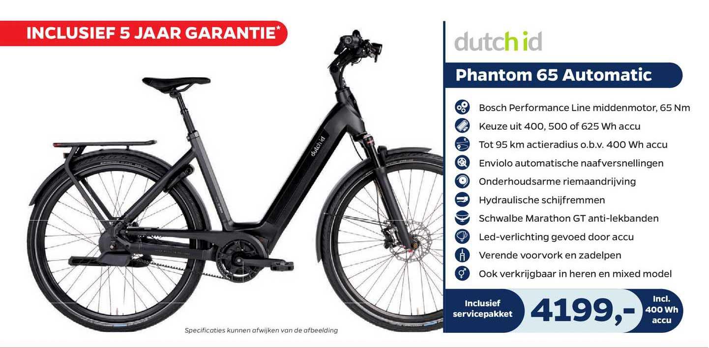 Bike Totaal Dutch Id Phantom 65 Automatic Fiets