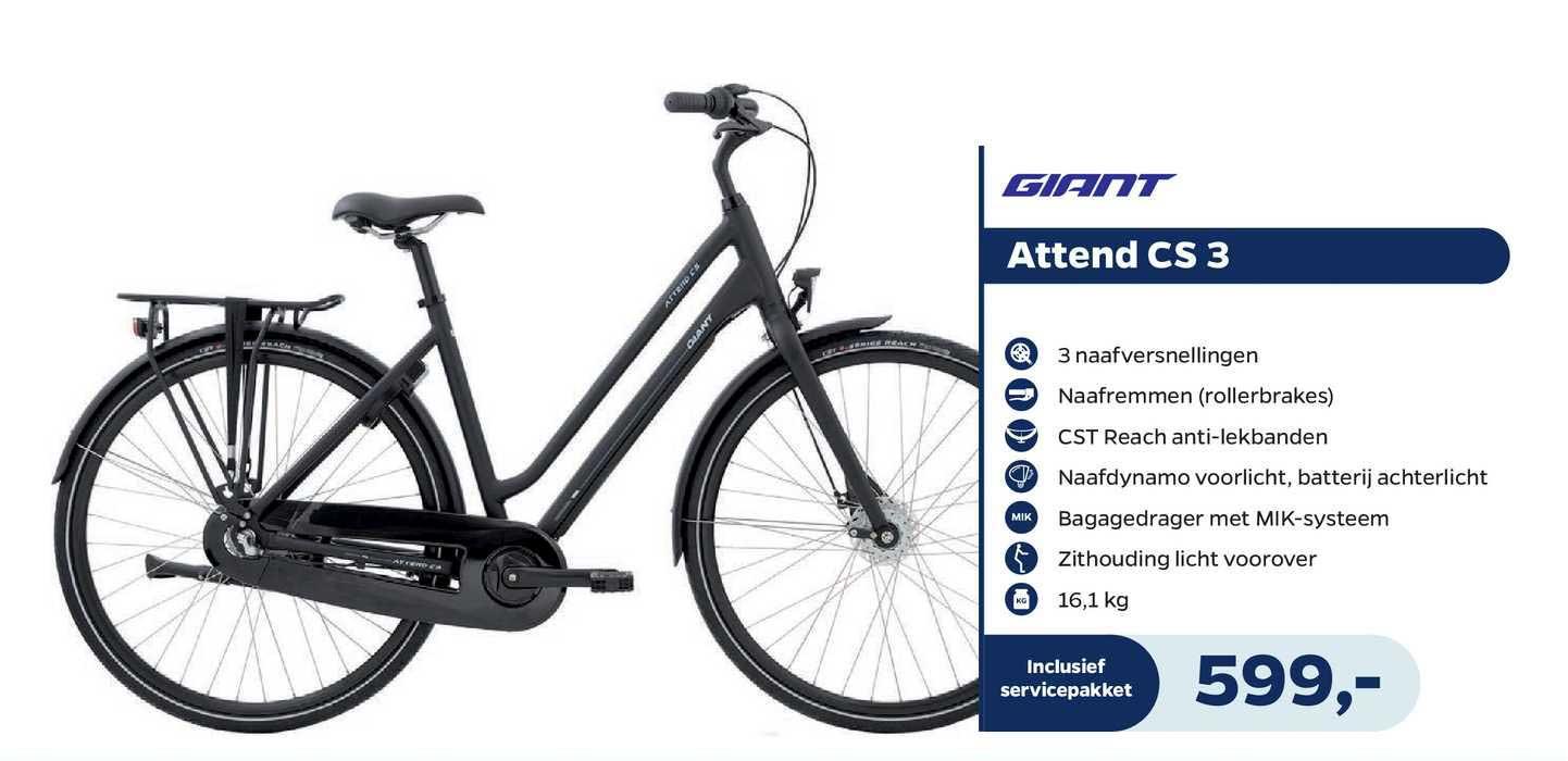 Bike Totaal Giant Attend CS 3 Fiets