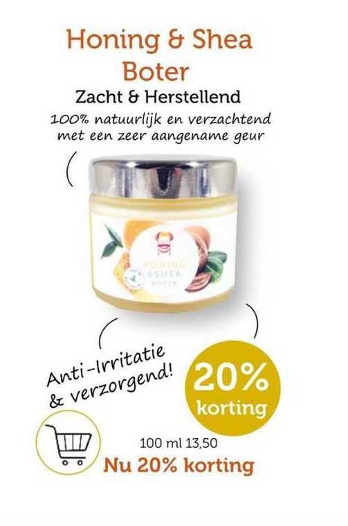 Rode Pilaren Honing & Shea Boter Zacht & Herstellend 20% Korting