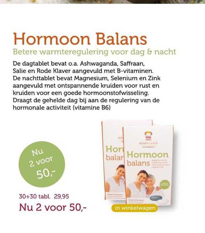 Rode Pilaren Hormoon Balans Betere Warmteregulering Voor Dag & Nacht